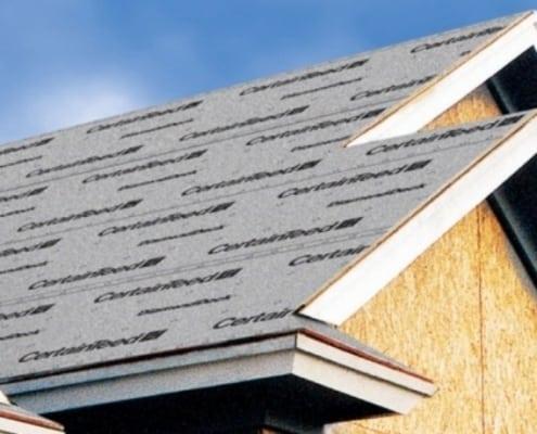 tar paper roof